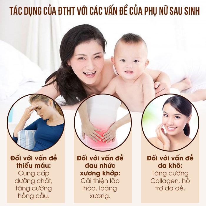 tác dụng của đông trùng hạ thảo đối với phụ nữ